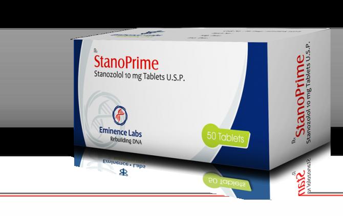 Stanoprime ( 10mg (50 pills) - Stanozolol oral (Winstrol) )