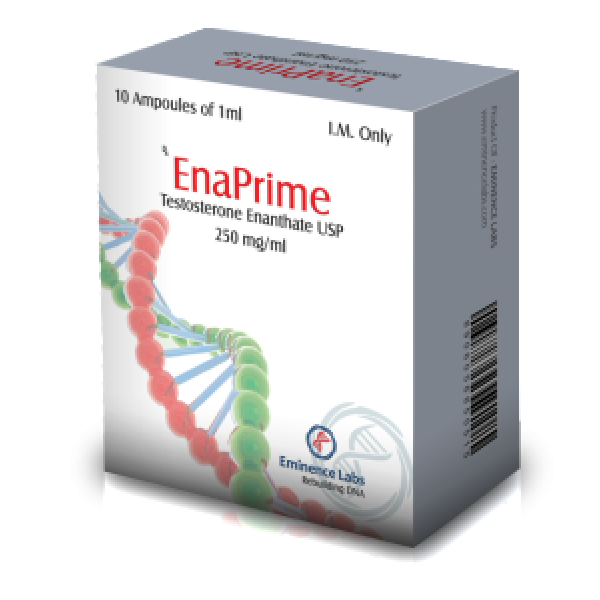 Enaprime ( 10 ampoules (250mg/ml) - Testosterone enanthate )