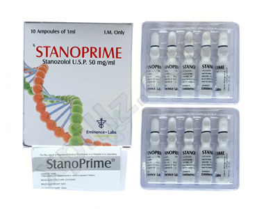 Stanoprime ( 10 ampoules (50mg/ml) - Stanozolol injection (Winstrol depot) )