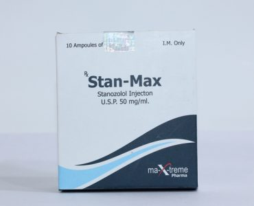 Stan-Max ( 10 ampoules (50mg/ml) - Stanozolol injection (Winstrol depot) )