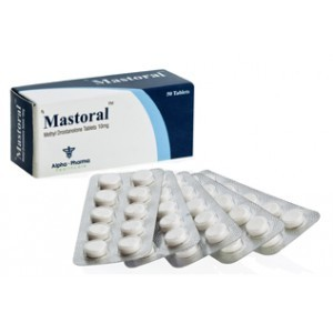 Mastoral ( 10mg (50 pills) - Methyl drostanolone (Superdrol) )