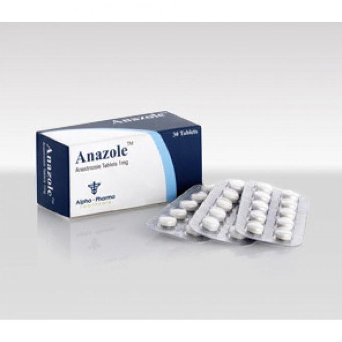 Anazole ( 1mg (30 pills) - Anastrozole )