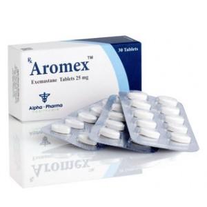 Aromex ( 25mg (30 pills) - Exemestane (Aromasin) )