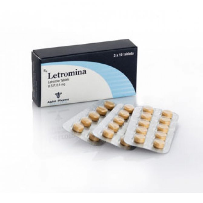 Letromina ( 2.5mg (50 pills) - Letrozole )