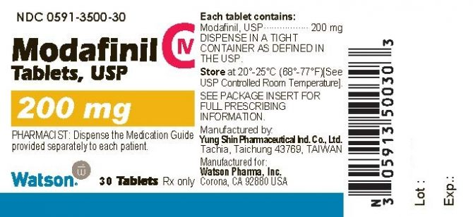 Modafin ( 200mg (30 pills) - Modafinil )