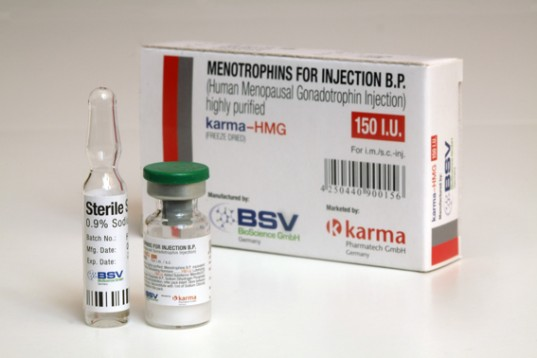 HMG 150IU (Humog 150) ( 1 vial of 150IU - Human Growth Hormone (HGH) )