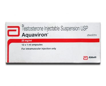 Aquaviron ( 12 ampoules (25mg/ml) - Testosterone suspension )