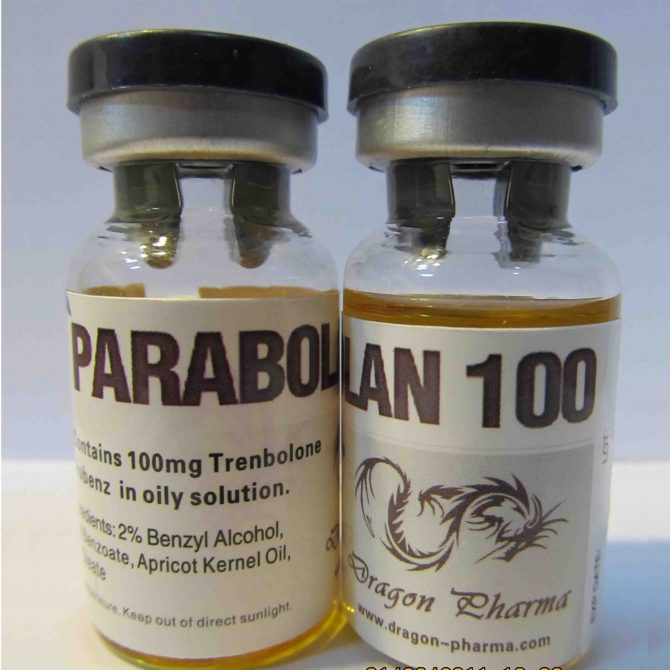 Parabolan 100 ( 10 mL vial (100 mg/mL) - Trenbolone hexahydrobenzylcarbonate )