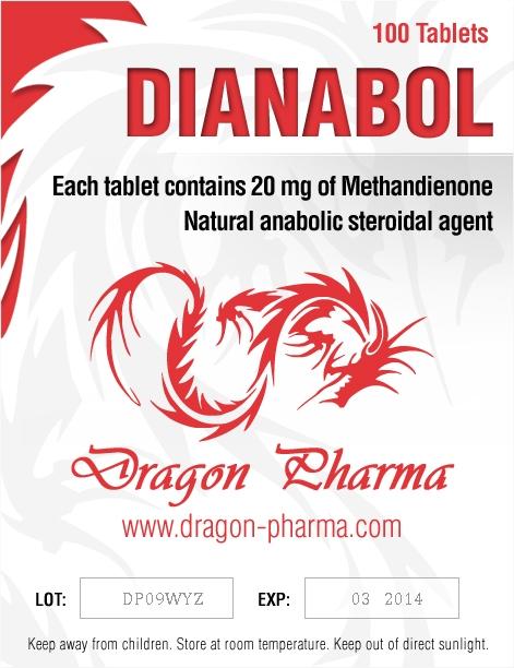 Dianabol 20 ( 20mg (100 pills) - Methandienone oral (Dianabol) )