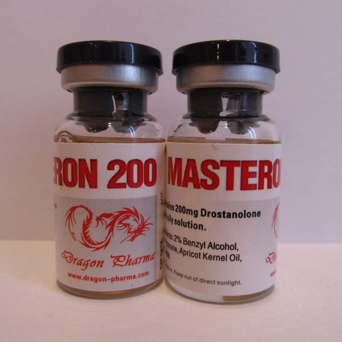 Masteron 200 ( 10 ampoules (200mg/ml) - Drostanolone propionate (Masteron) )