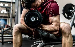 Pump large biceps