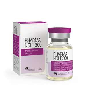 Pharma Nolt 300 ( 10ml vial (300mg/ml) - Nandrolone Propionate