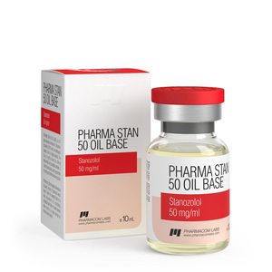 Pharma Stan 50 Oil Base ( 10ml vial (50mg/ml) - Stanozolol injection (Winstrol depot) )
