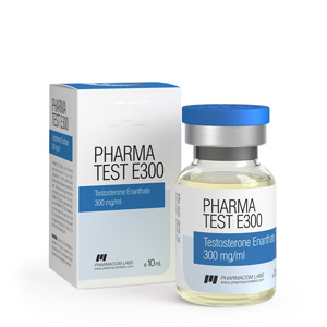 Pharma Test E300 ( 10ml vial (300mg/ml) - Testosterone enanthate )