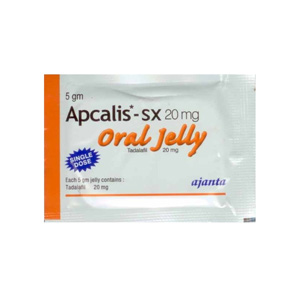 Apcalis SX Oral Jelly ( 20mg (10 pills) - Tadalafil )