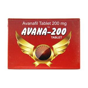 Avana 200 ( 200mg (4 pills) - Avanafil )
