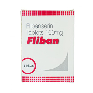 Fliban 100 ( 100mg (4 pills) - Flibanserin )