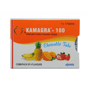Kamagra Chewable ( 100mg (4 pills) - Sildenafil Citrate )