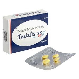 Tadalis SX 20 ( 20mg (4 pills) - Tadalafil )