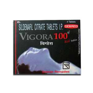 Vigora 100 ( 100mg (4 pills) - Sildenafil Citrate )