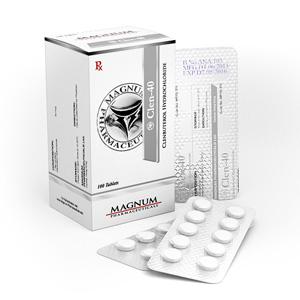 Magnum Clen-40 ( 40mcg (100 pills) - Clenbuterol hydrochloride (Clen) )