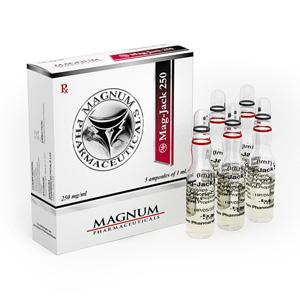 Magnum Mag-Jack 250 ( 5 ampoules (250mg/ml) - Trenbolone Acetate