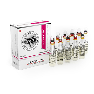 Magnum Test-C 300 ( 10 ampoules (300mg/ml) - Testosterone cypionate )