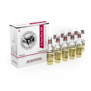 Magnum Test-Plex 300 ( 10ml vial (300mg/ml) - Sustanon 250 (Testosterone mix) )