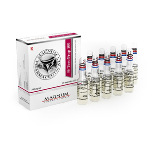 Magnum Test-Prop 100 ( 10 ampoules (100mg/ml) - Testosterone propionate )