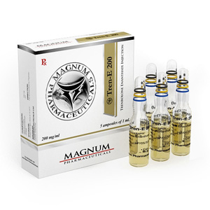 Magnum Tren-E 200 ( 5 ampoules (200mg/ml) - Trenbolone enanthate )