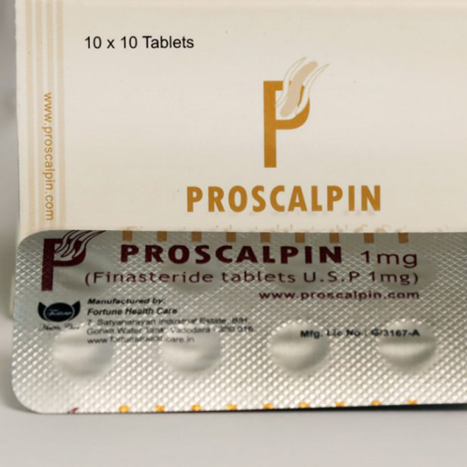 Proscalpin ( 1mg (50 pills) - Finasteride  (Propecia) )