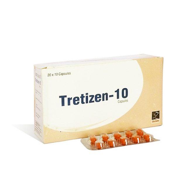 Tretizen 10 ( 10mg (10 capsules) - Isotretinoin  (Accutane) )