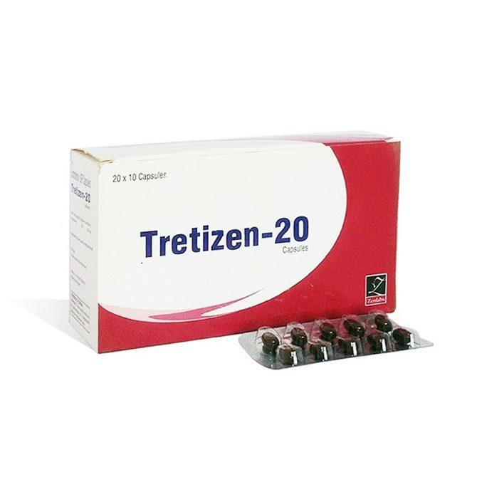 Tretizen 20 ( 20mg (10  capsules) - Isotretinoin  (Accutane) )