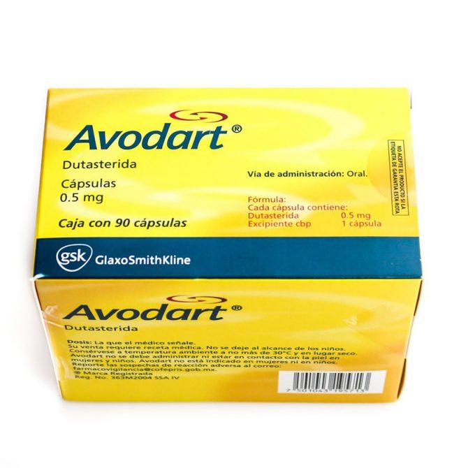 Dutahair ( 0.5mg (15 capsules) - Dutasteride (Avodart) )