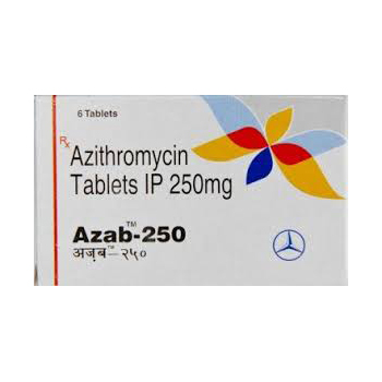 Azab 250 ( 250mg (6 pills) - Azithromycin )