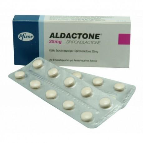Aldactone ( 25mg (30 pills) - Aldactone (Spironolactone) )